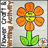 Flower Craft & Writing Prompt (Back-to-School Classroom Co
