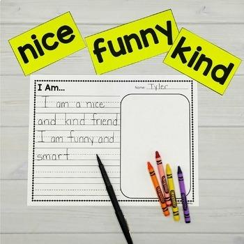 Flower Craft & Writing Prompt (Classroom Community Activity)