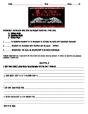 """""""I Am Legend"""" by Richard Matheson Worksheets, Art Projects"""