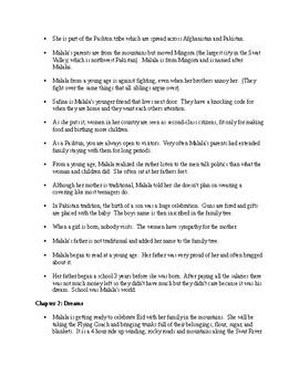 """I Am Malala"" Young Reades Edition Chapter Summary"