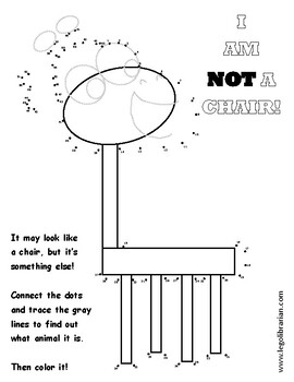 I Am Not A Chair Worksheets Teaching Resources Tpt