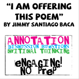 """I Am Offering This Poem"" by Jimmy Santiago Baca Poem Study"