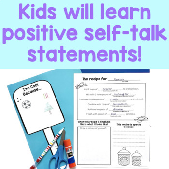 Self Esteem Activities - I Am Sweet