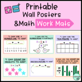 Printable Math Strategy Posters and Work Mats | Addition and Subtraction