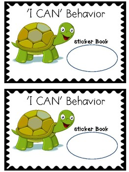 'I CAN' Behavior Booklets