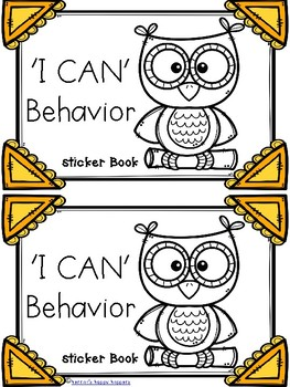 Behavior Management - Positive Behavior Incentive Booklets