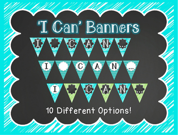 """""""I Can"""" Banners"""