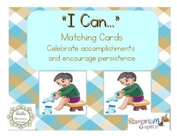 "Montessori Matching ""I Can..."" Cards"