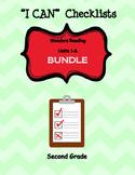 """I Can"" Checklist Wonders Reading Units 1-6 BUNDLE"