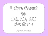 """I Can Count"" Posters"