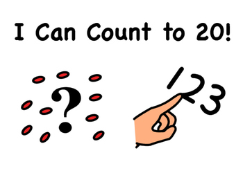 """I Can Count to 20!"" Counting Book"