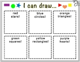 """""""I Can Draw"""" Shapes Worksheet"""
