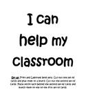 """""""I Can Help My Classroom"""" Job Board"""