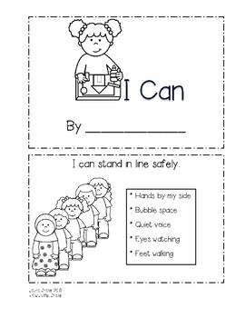 """Back-to-School """"I Can"""" Book"""