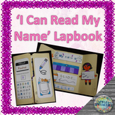 'I Can Read my Name' Lapbook