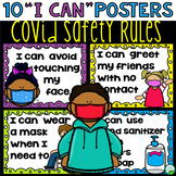 Safety Rules Posters COVID 19
