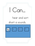 """I Can Hear and Sort Short 'a' Sounds"" Activity"