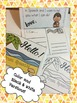 """I Can"" Speech Postcards to Mom & Dad - Low ink printable in English"
