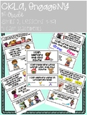'I Can' Statements, 1st Grade, CKLA, EngageNY, Skills 3