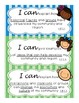 """I Can"" Statements- Social Studies Essential Standards 3rd Grade"
