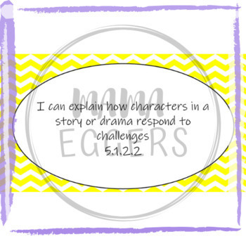 """""""I Can..."""" Statements for MN ELA Standards-Grade 5"""