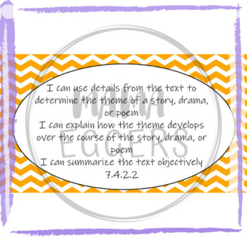 """""""I Can..."""" Statements for MN ELA Standards-Grade 7"""