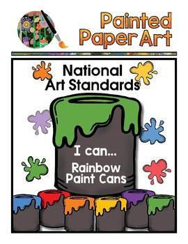 National Art Standards  PreK-8  (Updated) 4 Sets - Original/Rainbow