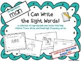 """I Can Write the Sight Word MAN"" Mini Book"