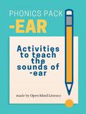 """I Fear I Heard a Bear""-  Word Lists, Sentences, and Fluen"