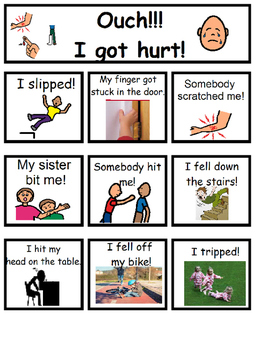 """I Got Hurt"" Board"