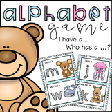 """""""I Have, Who Has?"""" Alphabet Game"""