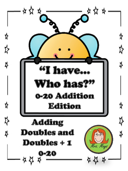 """""""I Have...Who Has?"""" Doubles, Doubles + 1 Edition"""