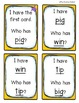 Short Vowel I Have, Who Has? -- 5 Games Included!