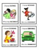 """""""I Have, Who Has?"""" ING-Verbs Game"""