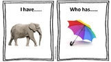 'I Have, Who Has' Multi-Syllabic Word Game