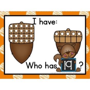 Kindergarten Number Recognition Game (K.CC.A3, K.CC.B5, K.NBT.A1)