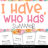 """I Have, Who Has?"" - Summer Vocab"