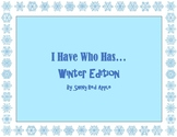 """""""I Have.."""" """"Who Has.."""" WINTER EDITION!"""