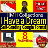 """""""I Have a Dream"""" 9th Grade HMH Collections 2 Activities- HRW March on Washington"""