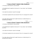 """""""I Have a Dream"""" speech- video questions"""