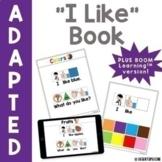 """""""I Like"""" Adapted Book"""