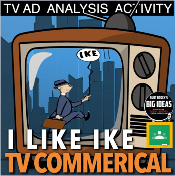 """I Like Ike"" TV Campaign Ad Analysis (the 1950s - Fifties)"