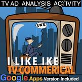 """I Like Ike"" TV Campaign Ad Analysis (1950s - Fifties) + Distance Learning Versi"