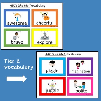 """I Like Me!"" and ""ABC I Like Me!""  A Speech and Language Companion Bundle"