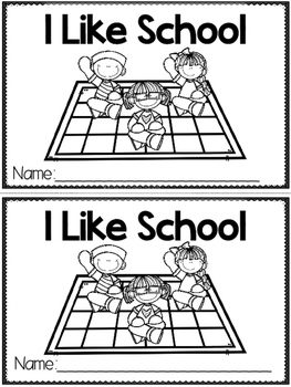 """I Like School"" (A Back to School Emergent Reader Dollar Deal)"
