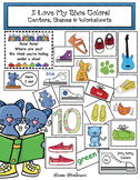 """""""I Love My Shoe Colors!"""" Centers, Games & Worksheets"""