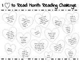 'I Love to Read' Month Reading Challenge