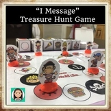 """I Message"" Pirate Treasure Hunt Game: Assertiveness & Communication Skills"