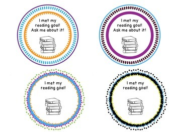 """I Met My Goal!"" Badges for Students"