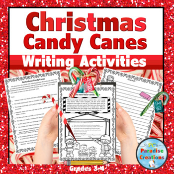 "CCSS ""I Need More Candy Canes"" Writing Assignment"